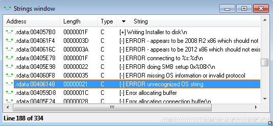 Exploiting MS17-010 on Windows Embedded 7 Devices - Fracture Labs